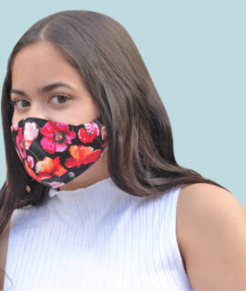 Masque Cotton Imprimé